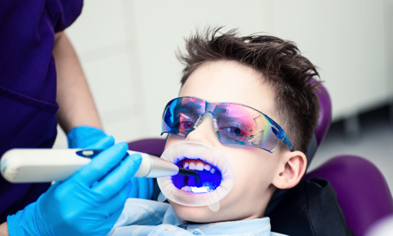 Procedure For Tooth Colored Fillings
